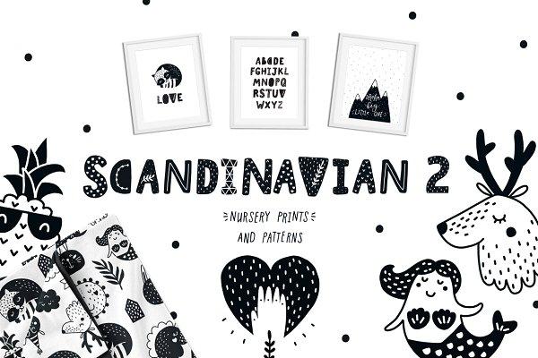Scandinavian 2- Nursery prints