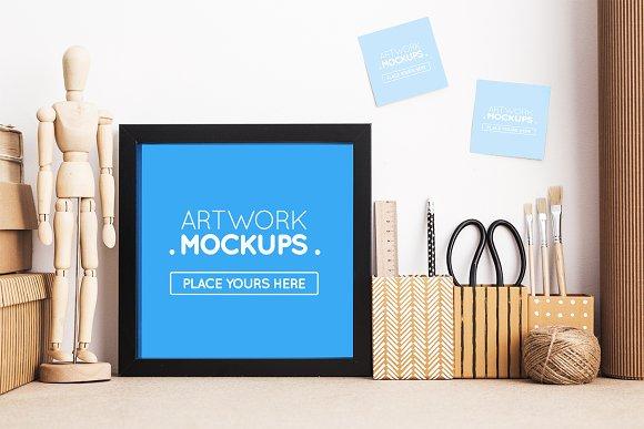 Artwork Mockups #6