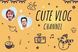 Youtube Vlog Channel Art