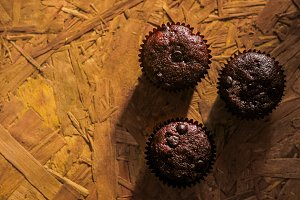 Handmade Muffin Cake