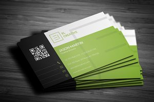 Creative Flat Business Card