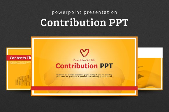 Contribution PPT