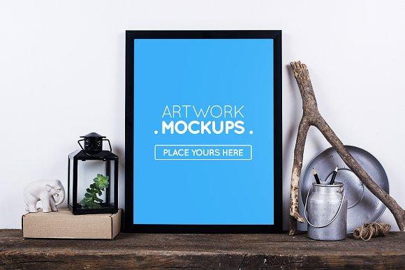 Artwork Mockups # 12