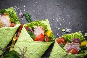 Green tortilla