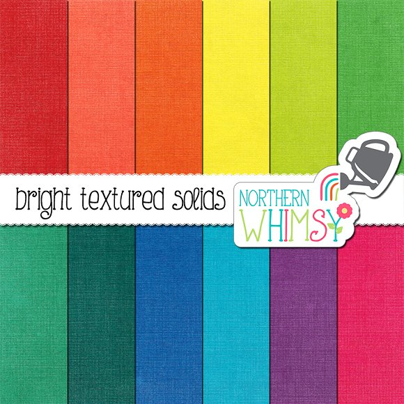 Paper Texture Bright Colors