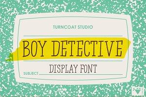 Boy Detective Font