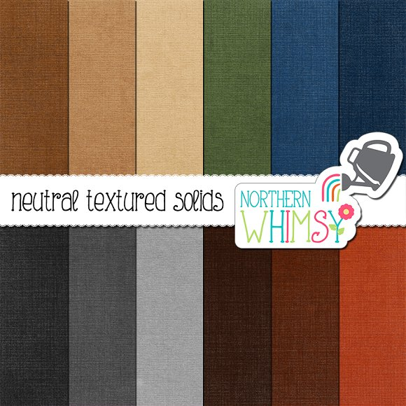 Paper Textures In Neutral Colors
