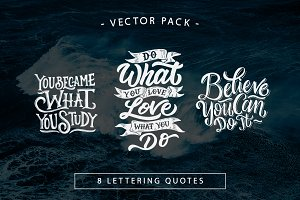 Hand Lettering Motivational Quotes 2
