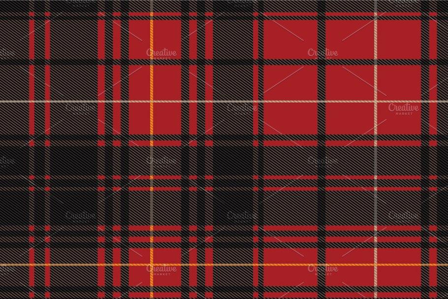 Save Seamless Scottish Tartan Pattern