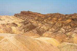 Colorful hills in Death Valley