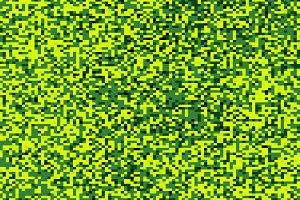 Olive green pixel maze illustration background