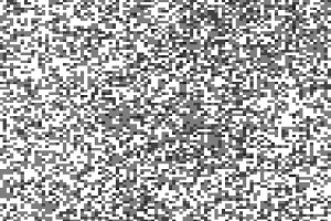 Black and white pixel maze illustration background