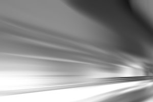 Horizontal black and white rush background