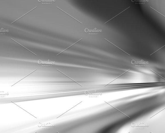 Horizontal Black And White Rush Background