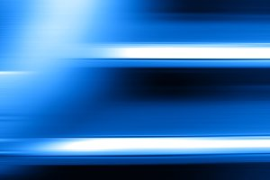 Horizontal blue motion blur with light leak background