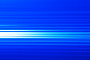 Horizontal blue motion blur background