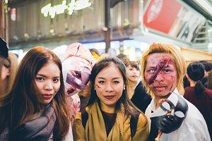Cosplay Halloween in Japan