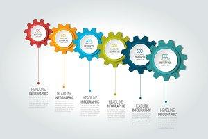 Six elements chart, scheme