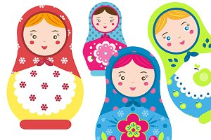 Russinan matreshka dolls