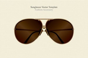 Sunglasses Vector Fashion Accessory