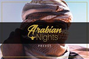 Arabian Nights - Lightroom Preset