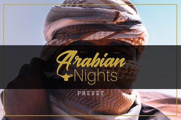 Arabian Nights Lightroom Preset