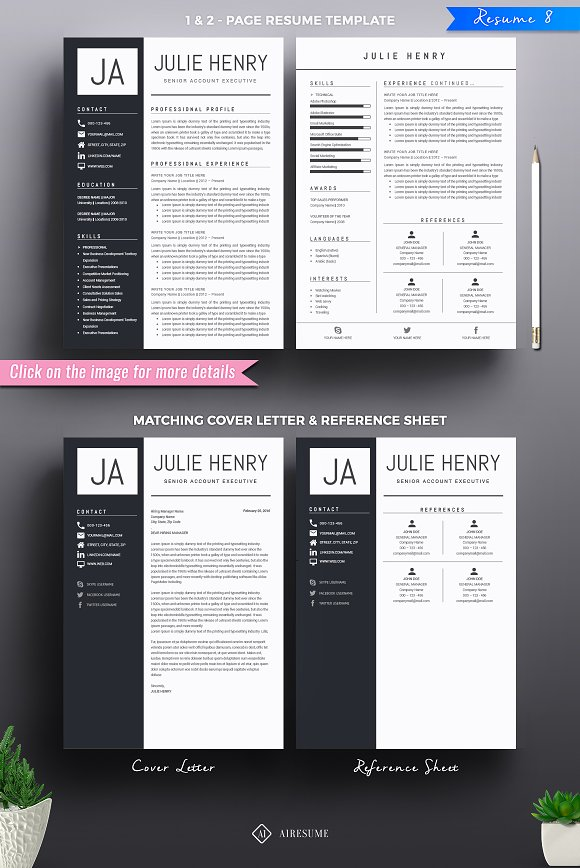 Example Of Objective In Resume Excel Resumecv Mega Bundle  Resume Templates  Creative Market References Upon Request On Resume Excel with Functional Resume Samples Word  Proffesional Resume