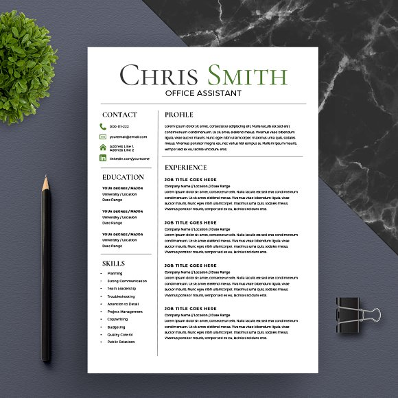 Trending Resume Template *NEW*