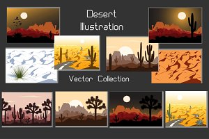 Desert Illustration Vector