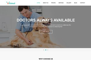 Animal - Pet Care HTML5 Template