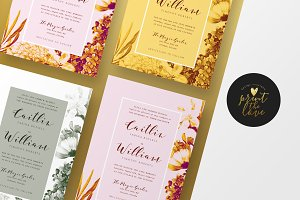 Wedding Invitation - Caitlyn
