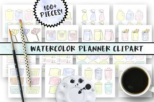 Planner Clipart Bundle
