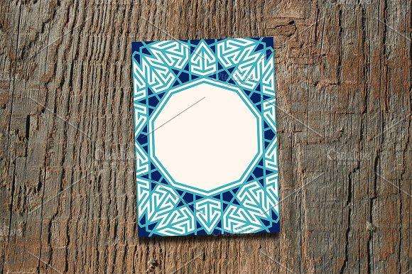 Arabic Geometric Frame