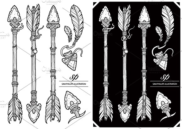 Arrows And Feathers