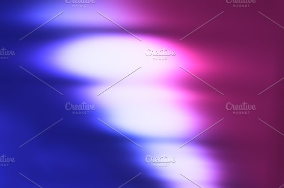 Diagonal Pink And Purple Bokeh Background