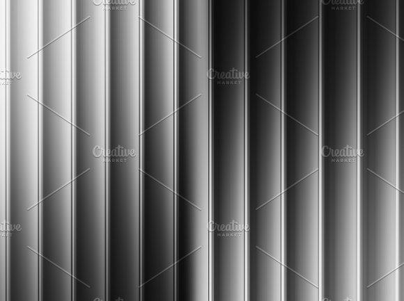 Vertical Black And White Bars Illustration Background