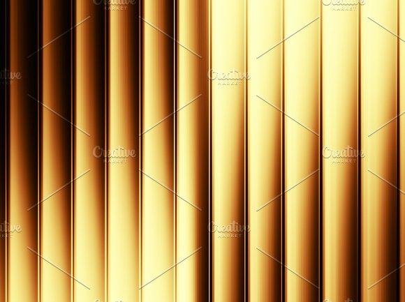 Vertical Orange Panels Illustration Background