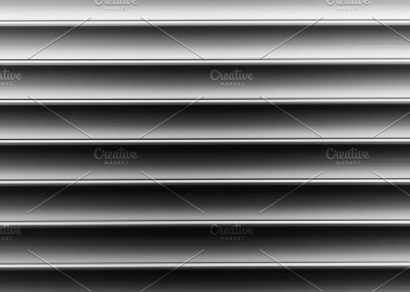 Horizontal Black And White Bars Illustration Background Backgrou