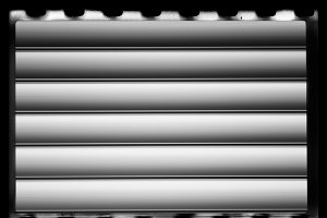 Horizontal vintage black and white camera film texture background