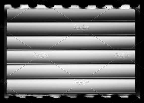 Horizontal Vintage Black And White Camera Film Texture Background