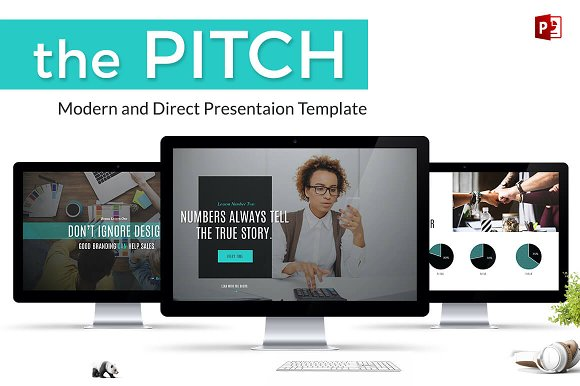 The Pitch, A PowerPoint Presentation in PowerPoint Templates