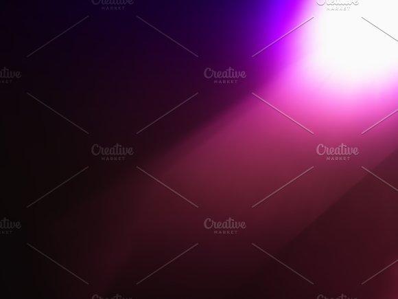 Pink Diagonal Light Leak Bokeh Background