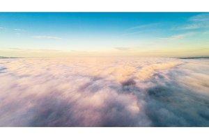 Cloudscape At Sunrise