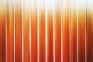 Vertical motion blur orange panels background