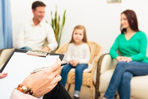 Family Seeing A Psychotherapist
