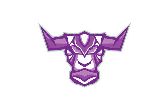 Robot Yak Bull Head Front