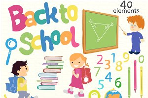 Back to school (big set)