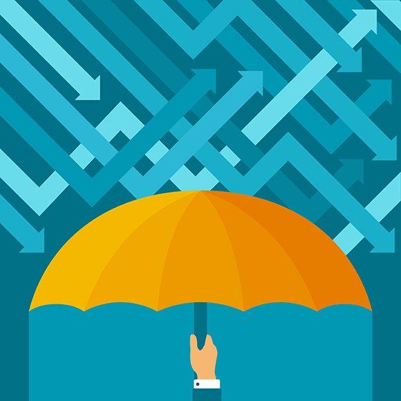 Business Risk Avoidance Concept