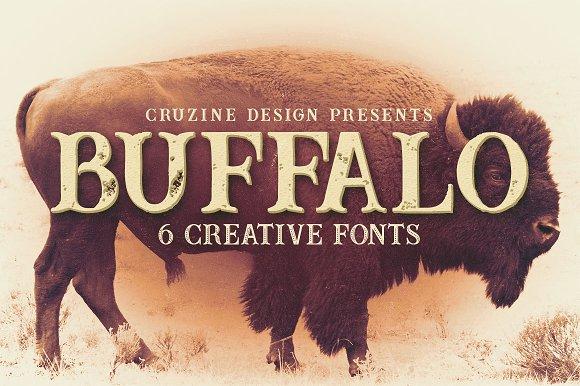 Buffalo Typeface