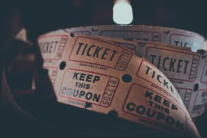 Roll Of Vintage Coupons